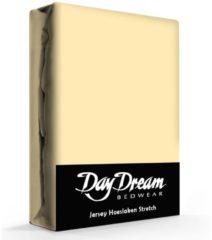 Day Dream Jersey Hoeslaken Geel-190 x 220 cm