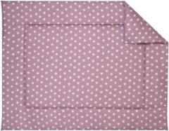BINK Bedding Boxkleed Stars Oudroze 80 x 100 cm