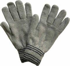 Fashionhouse Warme Winter Handschoenen | Hoogwaardige Kwaliteit | One Size / Unisex | Gestreept | Grijs