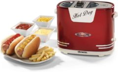 Ariete Hot Dog Pop-Up Machine Party Time Rood - Ariete Hot Dog Pop-Up Machine Party Time Rood