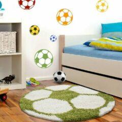 Carpetenmeer.nl Fun - Vloerkleed - Groen - 120 x 120