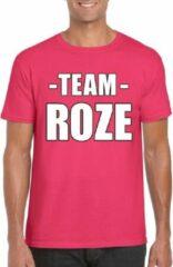 Shoppartners Sportdag team roze shirt heren 2XL