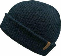 Basic Muts Blauw - Blauwe Beanie - Wakefield Headwear - Mutsen