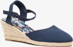 Scapino Blauwe dames espadrilles - Blauw - Maat 40