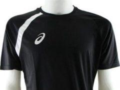 Asics - Sport Shirt - Zwart - XS