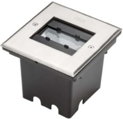 Konstsmide 7960-310 - LED-Bodeneinbaustrahler grau, edelstahl 7960-310
