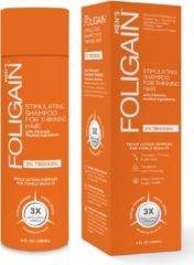 Foligain - Men - Stimulating Shampoo for Thinning Hair - 2% Trioxidil - 236 ml - vrouwen - Voor Fijn en slap haar/Haaruitval