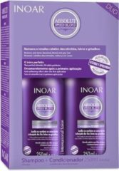 Inoar Speed Blond Zilver Shampoo & Conditioner 250 ML