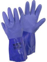 Showa 4708 660 Gr. L Katoenweefsel, PVC Chemicaliënhandschoen Maat (handschoen): 9, L EN 388 , EN 374-2 , EN 374-3, EN 455 Cat III 1 stuk(s)