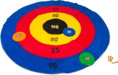 Blauwe BS Disc deluxe - Frisbee spel - Blauw