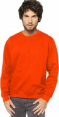 Gildan Oranje sweater/trui katoenmix voor heren - Holland feest kleding - Supporters/fan artikelen XL (42/54)