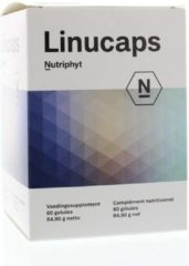 Nutriphyt Linucaps 60 capsules