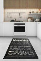 Nerge.be | Kitchen Black - 80x120 | Keukenmatten