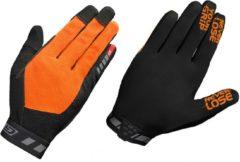 Oranje GripGrab Vertical InsideGrip� Full Finger Glove Fietshandschoenen Unisex - Maat S