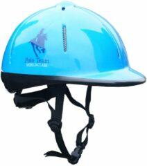 Blauwe Red Horse Paardrijcap RH met paardendesign