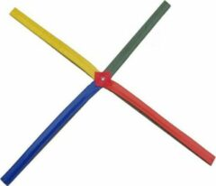 Rode Trenas - Coordinatie Kruis - Agility Kruis - Multi Colour - met draagtas