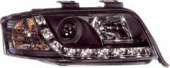 Universeel Set Koplampen incl. DRL Audi A6 4B 2001-2004 - Zwart