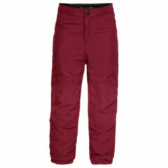 Vaude - Kid's Caprea Warmlined Pants II - Winterbroek maat 92, rood
