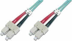 Oranje Digitus DK-2522-01/3 Glasvezel kabel 1 m SC Multi kleuren