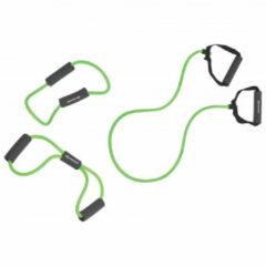 Schildkrot Fitness Schildkröt Fitness - Weerstandband Tubing 3 Set - Thermoplastic - Groen