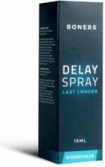 Boners Orgasmevertragende Spray - Transparant - Drogist - Voor Hem - Drogisterij - Klaarkomen uitstellen