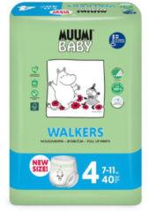 Eco Muumi Baby luierbroekjes maat 4 - 7-11 kg - 40 stuks - ecologisch