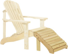 Woodvision Tuinset Canadian feetrest deckchair