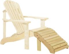 Woodvision Tuinset Canadian feetrest deckchair
