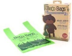 BecoPets Beco Pets Afbreekbare Hondenpoepzakjes met Hengsel - 120 stuks