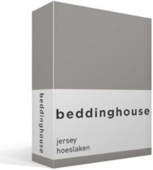 Beddinghouse Jersey Hoeslaken - Tweepersoons - 160x200/220 cm - Taupe