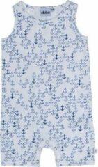 Ebbe - playsuit - Crisp anker - wit blauw