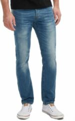 Blauwe Mustang Tapered Fit Heren Jeans W32 X L32