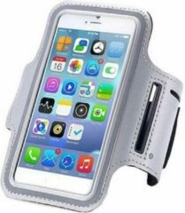 Qatrixx Sports armband case Zilver Silver voor Apple iPhone 6 Plus