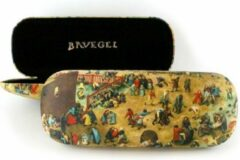 Bruine LANZFELD Brillenkoker, Bruegel, Kinderspelen