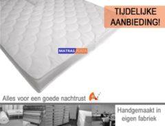 Witte Matrasplaza.nl 180x200 Topdekmatras Pearl Hybrid HR55 | 12 cm dik!