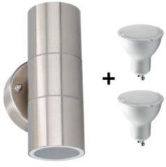 Grundig LED Buiten Wandlamp - Gloeilamp Inbegrepen
