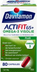 Davitamon Actifit 65+ Omega-3 Visolie 80 capsules
