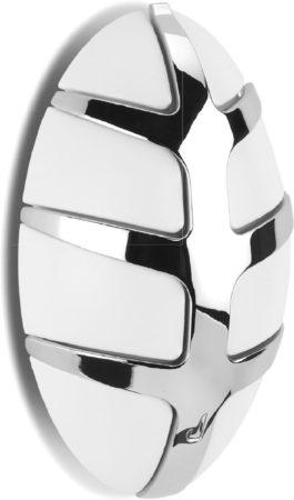 Afbeelding van Spinder Design Bug wandkapstok kunststof/metaal wit (7 haken)