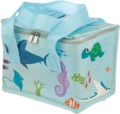 Blauwe Koeltas zeedieren - puckator