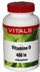 Vitals Vitamine D3 400 IE Voedingssupplement - 100 capsules