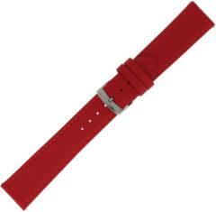 Morelatto Horlogebandje Twingo Nappa Rood 22mm