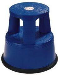 Blauwe Desq Galantha opstapkruk - Blauw - Kunststof - Hoogte 42,6 cm