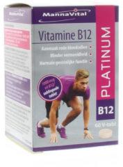 Vitamine B12 platinum van Mannavital : 60 tabletten