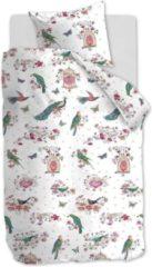Roze Beddinghouse Kids Sweet Birds Dekbedovertrek - Katoen - 1-persoons (140x200/220 Cm + 1 Sloop) - Pink
