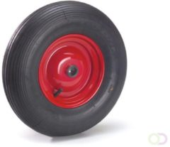 Fetra Luchtband 400 x 100 mm, Stalen velg - rood
