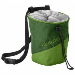 Edelrid - Chalk Bag Monoblock - Pofzakje maat One Size, olijfgroen/zwart/grijs