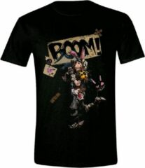 Borderlands 3 - Tiny Tina BOOM! Heren T-Shirt - Zwart - L