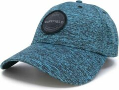 Blend Pet Blauw - Blauwe Baseball Cap - Fixed/Fitted Zonder Sluiting - WAKEFIELD Petten