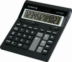 Olympia LCD 612 SD Bureaurekenmachine werkt op batterijen Zwart Aantal displayposities: 12