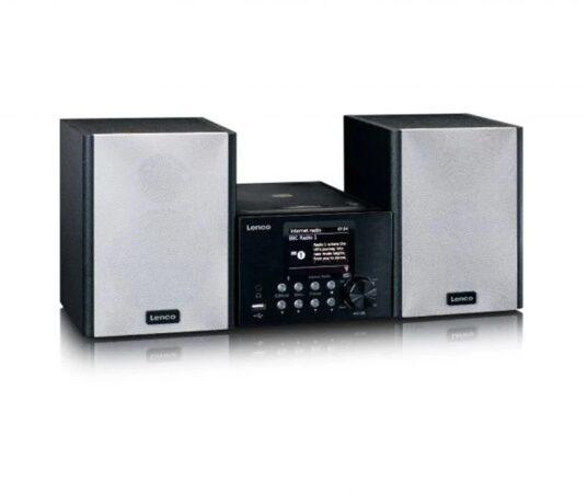 Afbeelding van Lenco MC-250BK - Micro set met smart radio, CD/USB speler, internet, DAB+, Bluetooth - Zwart